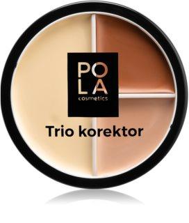 Pola Cosmetics Trio Master кремовий коректор