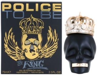 Police To Be The King Eau de Toilette für Herren 75 ml