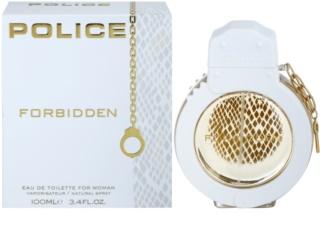 Police Forbidden Eau de Toilette para mulheres 100 ml