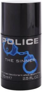Police The Sinner desodorante en barra para hombre 75 ml