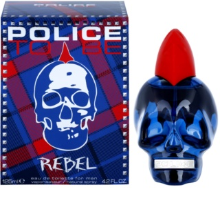 Police To Be Rebel Eau de Toilette para homens 125 ml