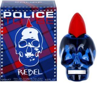 Police To Be Rebel toaletní voda pro muže 125 ml