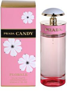 Prada Candy Florale Eau de Toilette voor Vrouwen  80 ml