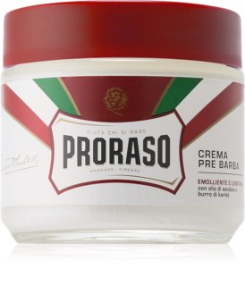 Proraso Emolliente E Nutriente Pre-Shaving Cream for Tough Stubble
