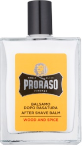 Proraso Wood and Spice bálsamo after shave hidratante