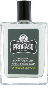 Proraso Cypress & Vetyver hydratisierendes After Shave Balsam nährende Textur