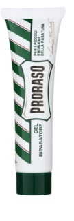 Proraso Green gel para parar o sangreamento após barbear