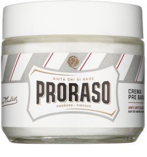 Proraso White крем до гоління для чутливої шкіри