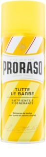 Proraso Yellow Shaving Foam Regenerative Effect