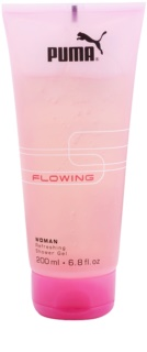 Puma Flowing Woman gel de ducha para mujer 200 ml