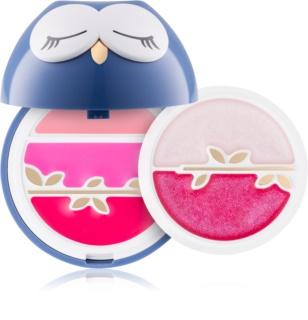 Pupa All You Need Is Owl Pupa Owl 1 Lidschatten & Kontourpalette für Lippen