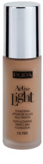 Pupa Active base leve SPF 10