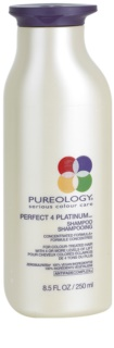 Pureology Perfect 4 Platinum champú para cabello rubio y con mechas