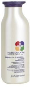 Pureology Perfect 4 Platinum шампунь для блонд та мелірованого волосся