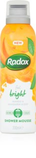 Radox Feel Bright mousse douche traitante
