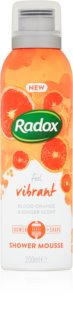 Radox Feel Vibrant περιποιητικός αφρός ντους
