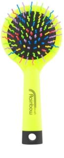Rainbow Brush Large Hair Brush With Mirror