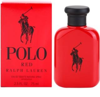 Ralph Lauren Polo Red Eau de Toilette for Men 75 ml