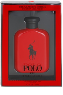 Ralph Lauren Polo Red The Gear Box Edition toaletna voda za moške 125 ml