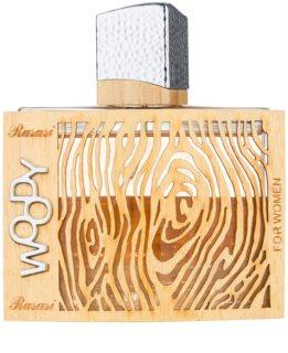 Rasasi Woody Eau de Parfum para mulheres 55 ml