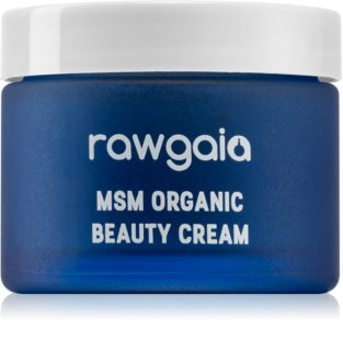 RawGaia MSM Organics feuchtigkeitsspendende Creme für trockene Haut