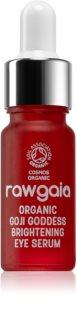RawGaia Organic Goji Goddess aufhellendes Augenserum