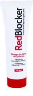 RedBlocker Night krepilna krema za razpokane žilice