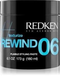 Redken Texturize Rewind 06 Styling Modeling Pasta voor het Haar