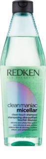 Redken Clean Maniac Micellar shampoo detergente