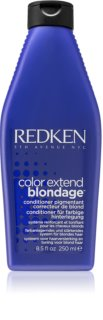 Redken Color Extend Blondage condicionador neutraliza tons amarelados