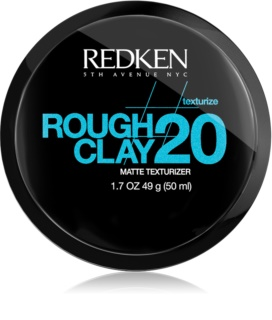 Redken Texturize Rough Clay 20 Matt pasta För flexibel stadga