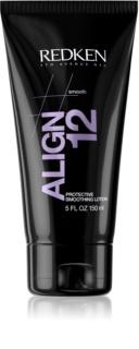 Redken Straight Lissage Align 12 glättender Balsam für von Wärme überanstrengtes Haar