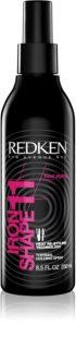 Redken Heat Styling Iron Shape 11 spray cu protecție termică, pentru aranjarea cu placa și cu ondulatorul