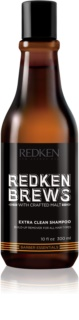 Redken Brews Deep Cleanse Clarifying Shampoo for All Hair Types