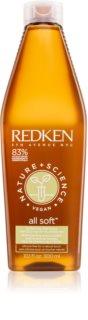 Redken Nature+Science All Soft hidratáló sampon száraz és sérült hajra