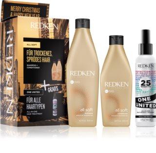 Redken All Soft lote de regalo I. (para cabello seco y delicado)