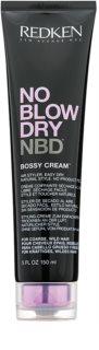 Redken No Blow Dry στάιλινγκ κρέμα για τραχύ και ατίθασα μαλλιά με γρήγορο στέγνωμα
