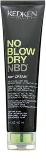 Redken No Blow Dry crème coiffante séchage rapide pour cheveux fins