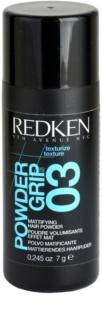 Redken Texturize Powder Grip 03 poudre matifiante volume et forme