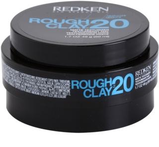 Redken Texturize Rough Clay 20 pâte matifiante pour une fixation flexible