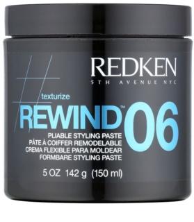 Redken Texturize Rewind 06 pâte coiffante pour cheveux