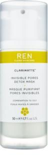 REN Clarimatte™ Detox-Maske für fettige und Mischhaut