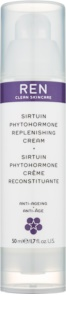 REN Sirtuin Phytohormone Moisturising and Restorative Face Cream For Mature Skin