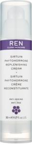 REN Sirtuin Phytohormone hydratační a posilňující pleťový krém pro zralou pleť