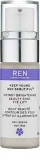 REN Keep Young And Beautiful™ gel illuminateur yeux  effet lifting