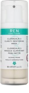 REN ClearCalm 3 освітлююча маска для проблемної шкіри