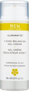 REN Clarimatte™ gyengéd és hidratáló géles krém matt hatásért