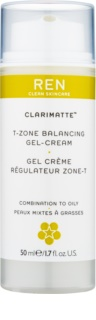 REN Clarimatte™ Lichte Hydraterende Gelcrème voor Matte Uitstraling