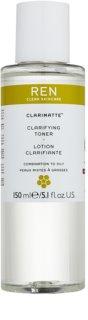 REN Clarimatte™ очищуючий тонік для змішаної та жирної шкіри