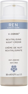 REN V-cense Revitalizing Night Cream With Rejuvenating Effect